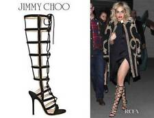 Jimmy Choo Sandals 100% Leather Heels for Women