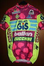 Maglia Shirt Radtrikot Maillot Ciclismo Gelati GIS Ballan Giro Tour Zucchini