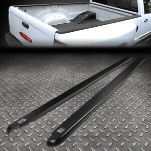 FOR 94-02 DODGE RAM 6.5FT FLEETSIDE PAIR TRUCK BED SIDE RAIL MOLDING CAP W/HOLES