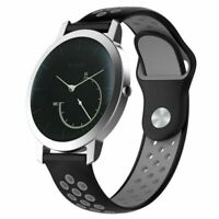 1*18/20mmSilikon Armband Uhrenarmband Watch Band Strap Bracelet Für Nokia/Huawei