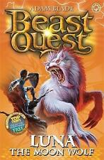 Luna the Moon Wolf: Series 4 Book 4 (Beast Quest), Blade, Adam, New Book