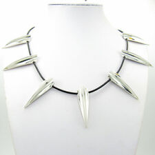 """Black Panther Wakanda King T'Challa Cosplay Necklace On 22"""" LEATHER CORD"""