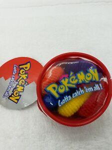 Pokemon coin zipper Hair Tie Scrunchee vintage stage cosplay anime accessories
