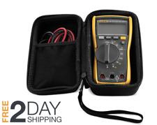 Fluke Multimeter Case Digital Automotive Testing Hvac Combo Kit Carrying Hard