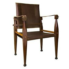 Authentic Models MF122 Bridle Leather Campaign Chair NEW