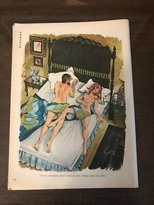 1973 Vintage Playboy Cartoon Doug Sneyd