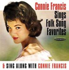 Connie Francis Sings Folk Song Favori 5055122111993 CD