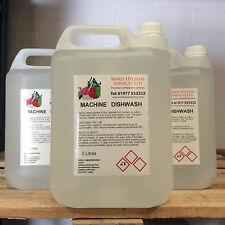 2 x auto dishwash plat laver machine détergent liquide 5ltr 5 litres 5L home bar