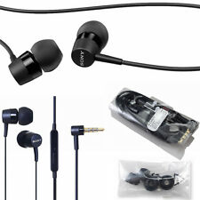 GENUINE SONY MH750 STEREO HANDSFREE EARPHONES HEADPHONES XPERIA ZX XA X IPHONE