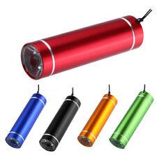 Mini LED Hard Light Small Very Key Chain Flashlight Torch Medical Outdoor