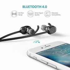 Anker SoundBuds Sport Bluetooth 4.0 Headset Headphones Sweat Proof iOS Android $