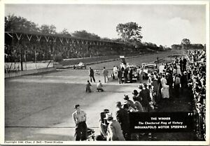 CHECKERED FLAG : EARLY INDIANAPOLIS 500 ; CHAS. BELL : TOWER STUDIOS : (1946)
