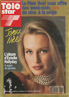 Télé Star N°898 - Estelle Hallyday - J-Paul Ii - D. Gélin - Phil Collins