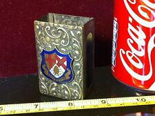 Antique Match Holder Metal