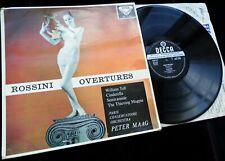 Rossini: Overtures - Peter Maag / PCO **Decca SXL 2182 WBg ED1 LP**
