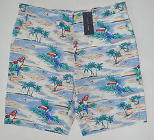NWT Men's TOMMY HILFIGER Casual Shorts, Caribbean Style, size 32