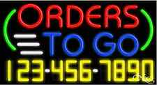 New Orders To Go Withyour Phone Number 37x20 Neon Sign Withcustom Options 15030