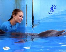"(SSG) AUSTIN HIGHSMITH Signed 10X8 ""Dolphin Tale"" Photo - JSA (James Spence) COA"