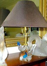 """Extremadamente Raro Lalique Cristal. """"pilmicos"""" dos 2 Lámpara de aves... magnífico si"""
