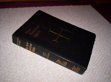 THE NEW AMERICAN BIBLE  Large Type Saint Joseph Edition  aPpears bonded leather
