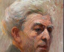 Portrait d'homme signé et daté 1913 : pastel fixé sur papier 48 x 27 cm