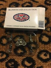 Liberty Falls Americana Pewter Collection Collectable Ah48 Pieces