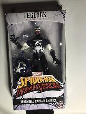 Marvel Legends Spider-Man Maximum Venom Venomized Captain America NEW! Fast Ship