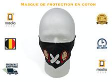 Masque Fashion en Tissu Protection Lavable 100% Coton