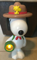 Flashlight Snoopy Woodstock Hat by McDonald's 2018 Happy Meal Toy Camp Ranger