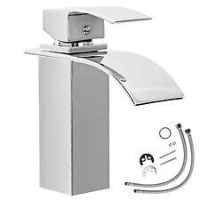 Cascada grifería monomando baño diseño mezclador cromada lavabo grifo moderno