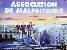"""""""ASSOCIATION DE MALFAITEURS"""" Affiche originale (Claude ZIDI / François CLUZET)"""