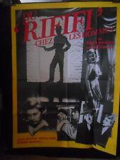 AFFICHE originale grand format ( 120 x 160 ) .DU RIFIFI CHEZ LES HOMMES ( 1956 )