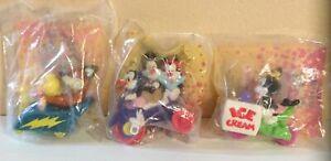 Vintage Animaniacs 1993 Mcdonalds Happy Meal Toys Lot Of 3 Dot,Mindy & Buttons