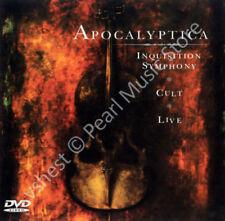 APOCALYPTICA INQUISITION SYMPHONY / CULT / LIVE 2 CD + DVD + bonus video new