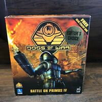 NOS Factory Sealed Dogs of War / Big Box PC Game Battle Primus IV   TalonSoft