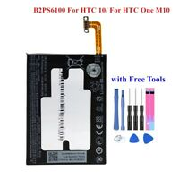 B2PS6100 For HTC ONE M10 / For HTC 10 Battery Replacement 3000mAh 3.85v+Tool kit