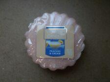 Yankee Candle Usa Deerfield Peaches & Cream Wax Tart