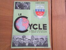 REVUE LE CYCLE CYCLOMOTEURS SCOOTERS SALON 1949 COMPTE RENDU VELOMOTEUR VELO