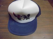Mohr's Men's DK Blue ONE SIZE FITS ALL Game Fighting  COCK ROOSTER Game Foul Hat
