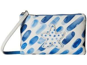 Brighton Blue Water Cross Body Pouch  NWOT   removable strap