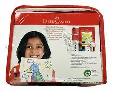 Kids Drawing Sketching Coloring Gift Set Supplies Kit w/ Pad Crayons Pencils FS