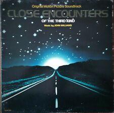 Close Encounters of the Third Kind (John Williams, 1977) soundtrack vinyl record