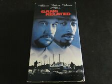 Gang Related Tupac Shakur VHS Tested -Buy 2 Or More VHS-No Extra Shipping $