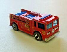 Vtg. Hot Wheels Fire Eater Fire Truck #51 Diecast 1:64 Loose 1976 Hong Kong L2