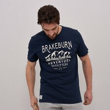 Brakeburn Adventure Outfitters Tee - Navy - Size Large - BNWT - Was £21.99