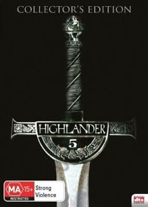Highlander 5 - The Source DVD - Adrian Paul, Peter Wingfield - New & Sealed