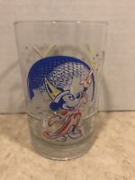 MICKEY MOUSE McDonald's Glass EPCOT Walt Disney World 25th Anniversary Collectiv