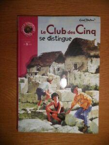 LE CLUB DES CINQ SE DISTINGUE   ENID BLYTON