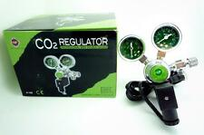 UP CO2 regulator two gauge solenoid magetic bubble counter planted aquarium A153