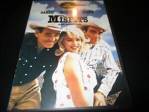 "DVD ""THE MISFITS (LES DESAXES)"" Marilyn MONROE, Clark GABLE - western"